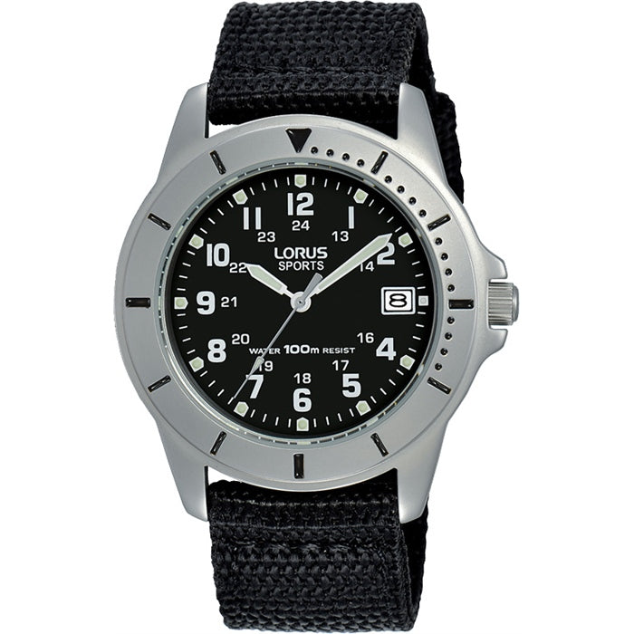 Lorus - Gents Silver Sports Watch