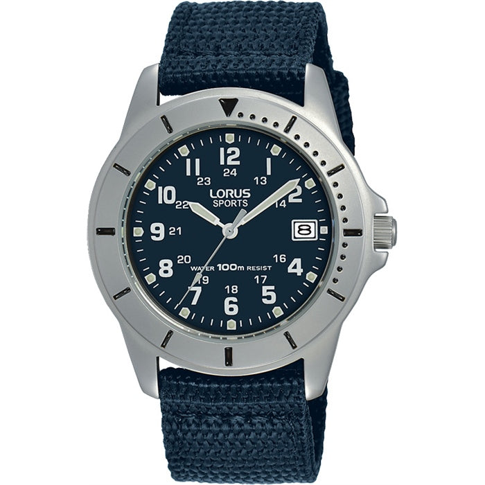 Gents Silver Sports Watch