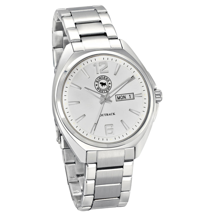 Ringers Western - Outback White Dial Watch