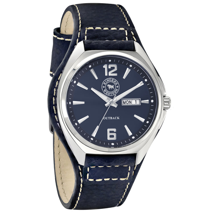 Ringers Western - Outback Blue Leather Watch