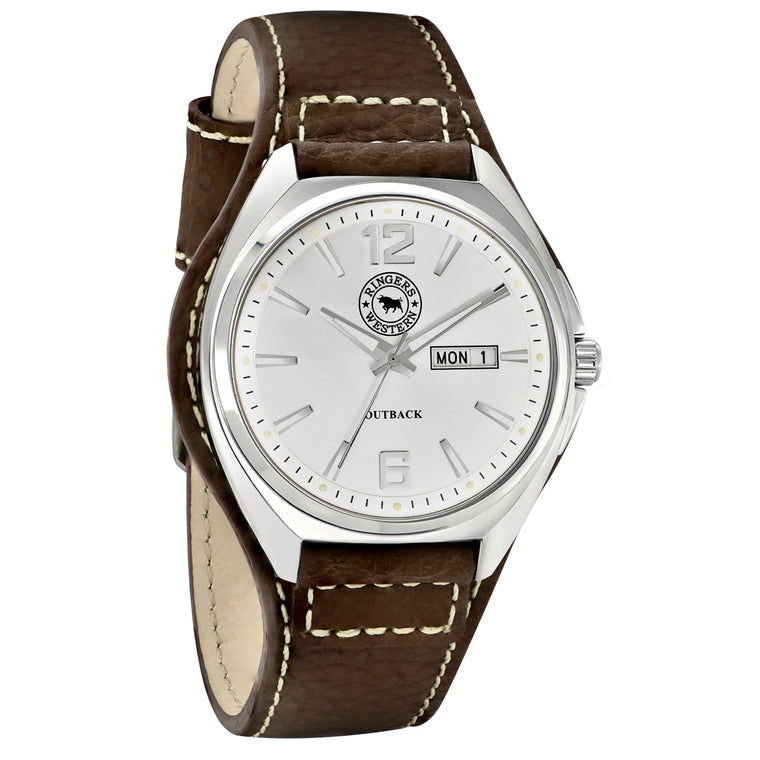 Ringers Western - Outback Brown Leather Watch