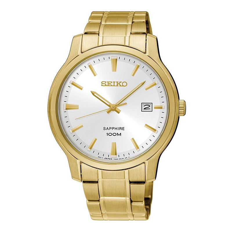 SEIKO - Gents Gold 100m Bracelet Watch