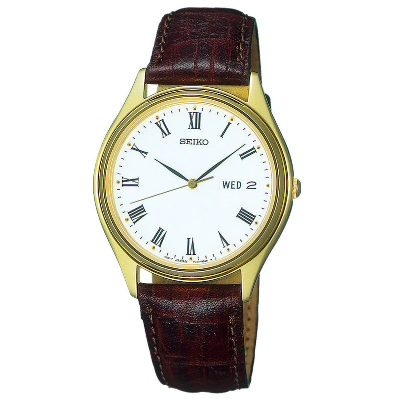 SEIKO - Gents Leather Watch