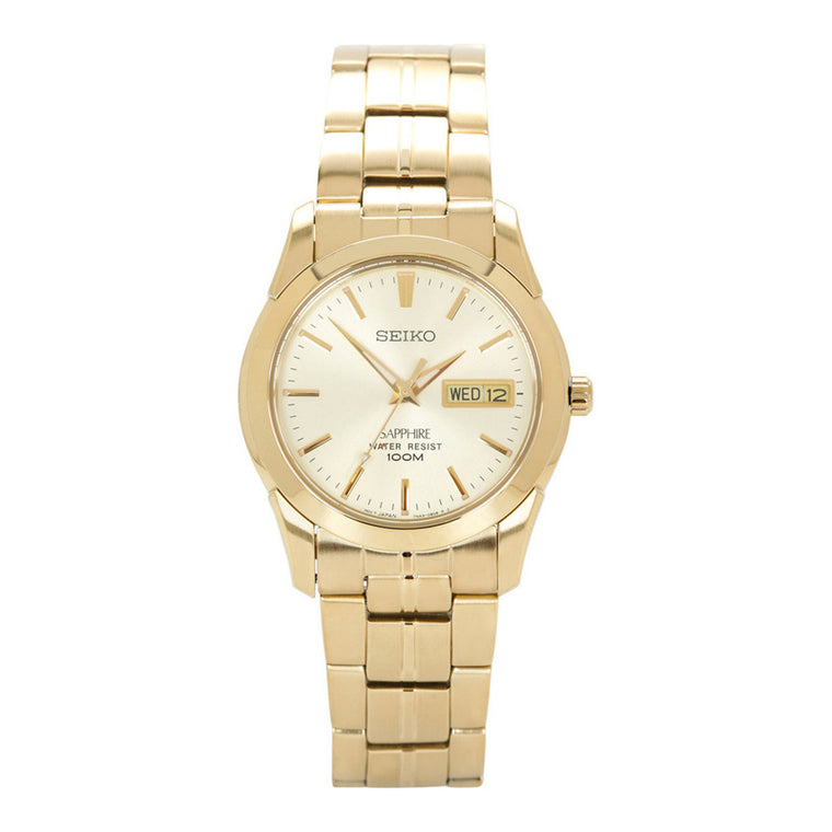 Seiko - Gents Gold Watch