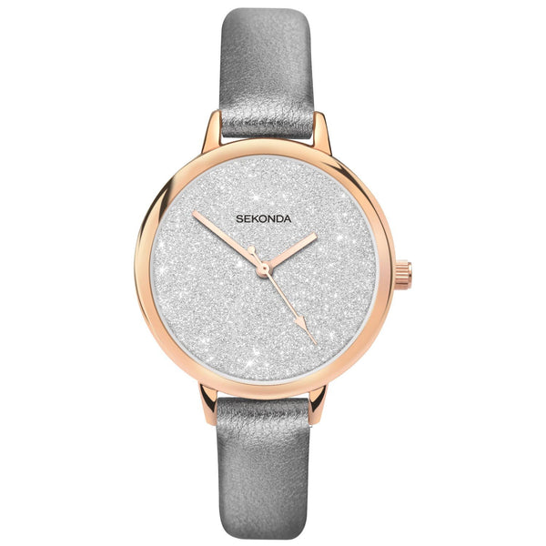 Sekonda Women's Glitter Dial Watch SK40023