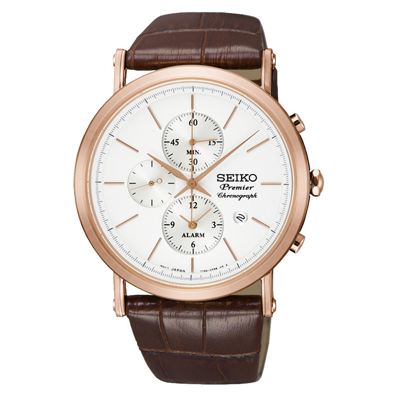 Seiko - Gents Premier Chronograph Watch