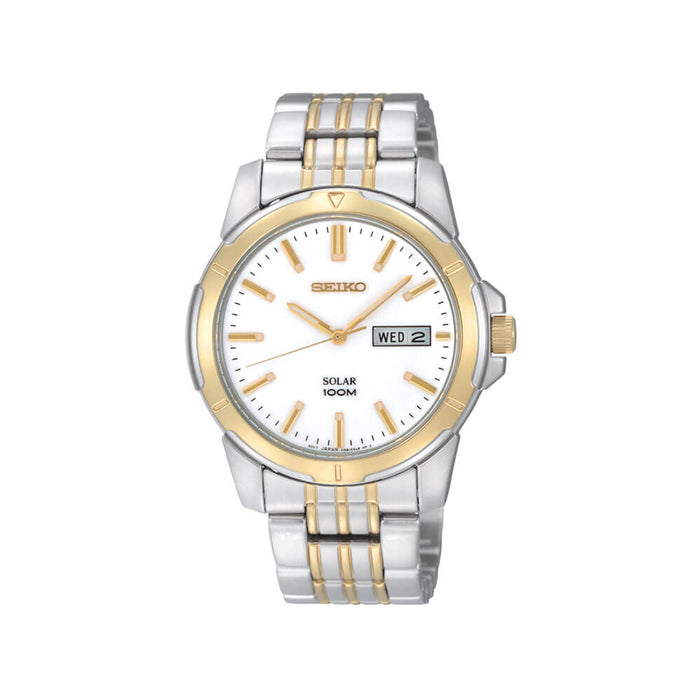 Seiko - Gents Two Tone Solar Watch
