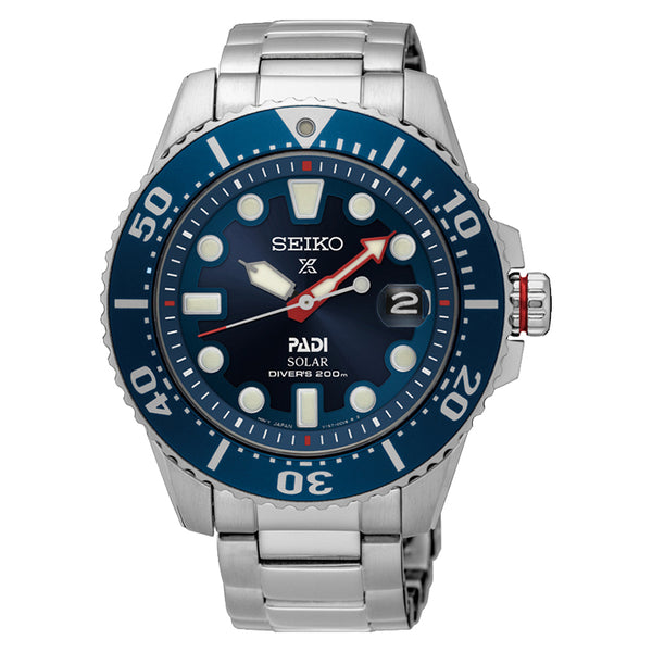 SEIKO - Gents Prospex Solar Divers Watch
