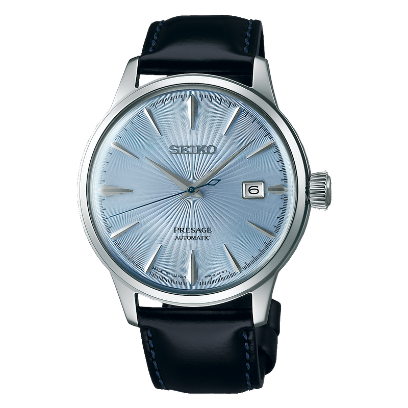 SEIKO - Gents Presage Leather Watch