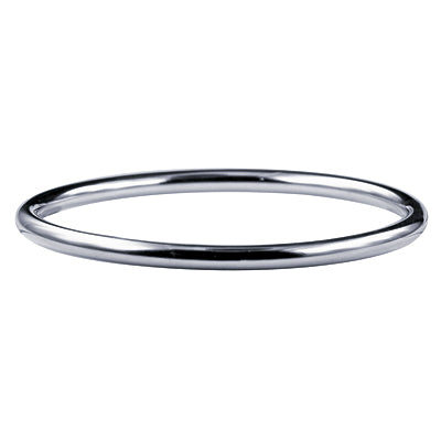 Stainless Steel IP Plated Round Bangle