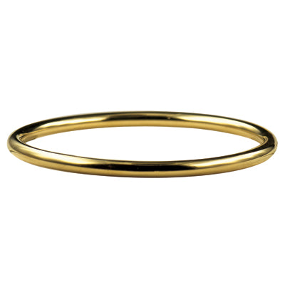 Stainless Steel Gold IP Plated Bangle