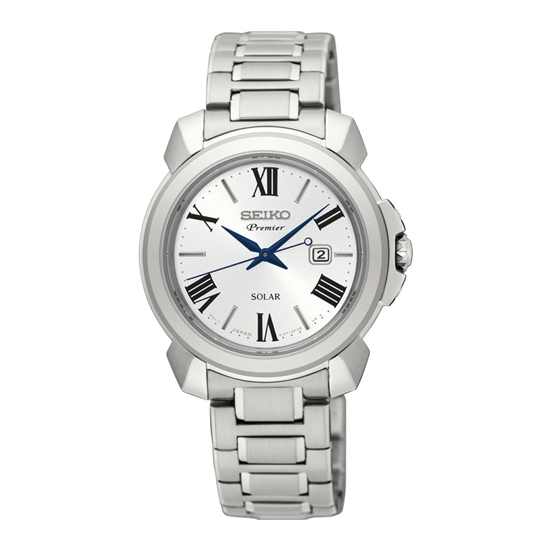 Ladies Premier Silver Watch