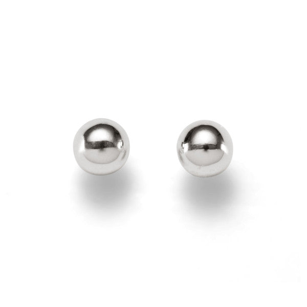 Sterling Silver Ball Studs