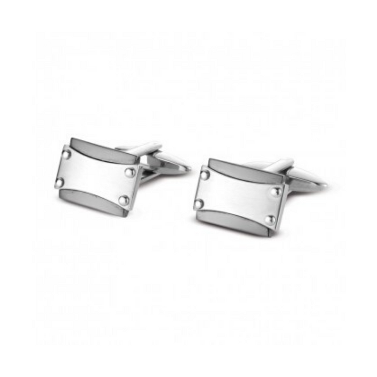 Blaze - Stainless Steel Cuff Links