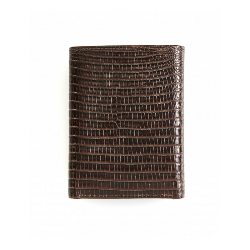 Cudworth - Brown Lizard Pattern Wallet