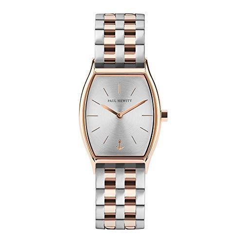 Paul Hewitt Modern Edge Silver Sunray Two-Tone Watch
