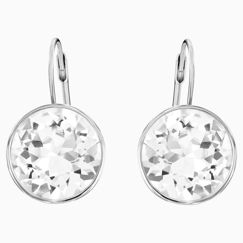 Swarovski - Bella Pierced Earrings White