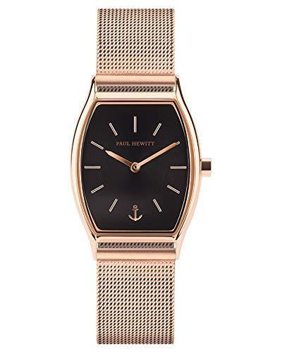Paul Hewitt Modern Edge Black Sunray Gold Watch