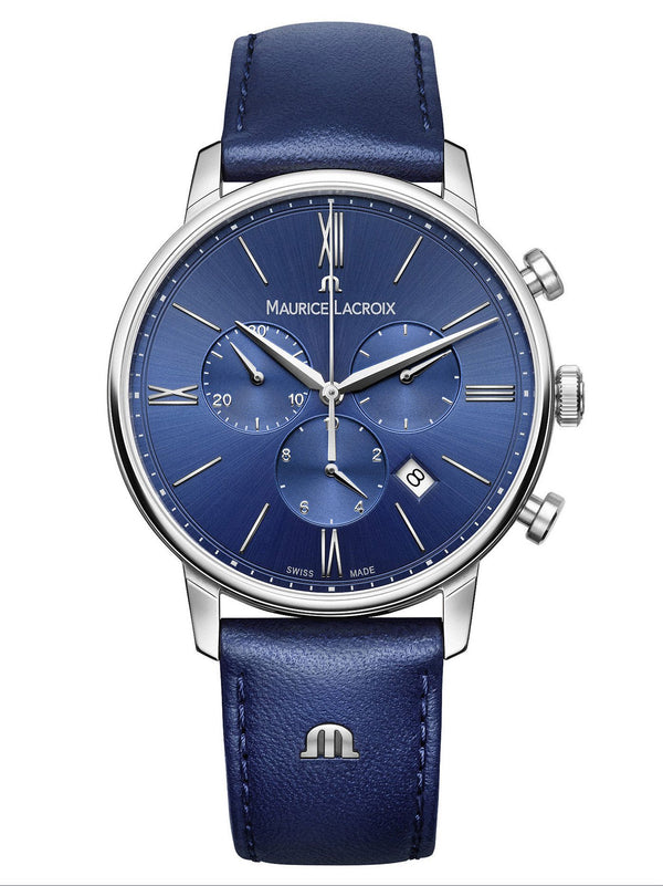 Maurice Lacroix ELIROS Chronograph 40mm Mens Watch