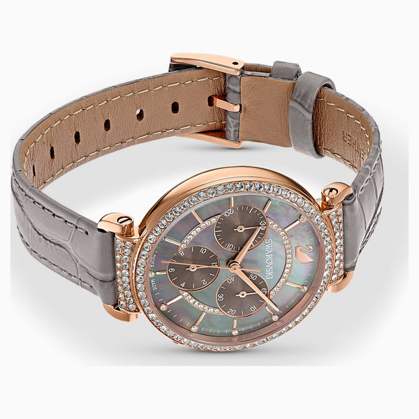SWAROVSKI - Passage Rose Gold Grey Passage Chronograph Watch