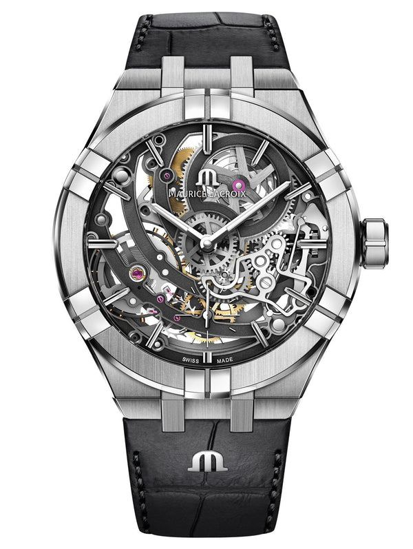 Maurice Lacroix AIKON Automatic Skeleton 45mm Mens Watch