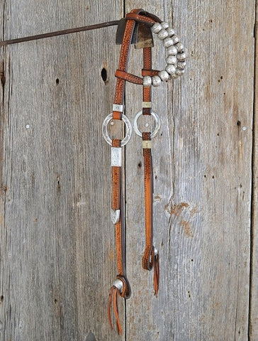 Harris Leather headstall. SOLD!