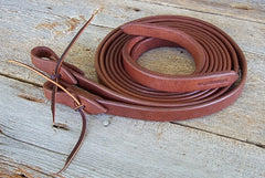 "SPR34 3/4"" Weighted Split Reins"