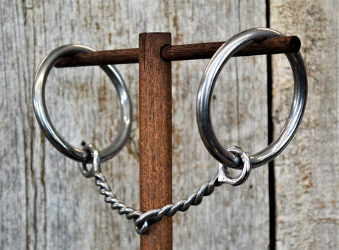 SB106 Twisted Wire Snaffle Bit