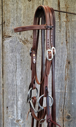 FR201 Bridle with Smooth Snaffle