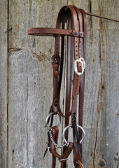 FR205 Bridle with Twisted Snaffle
