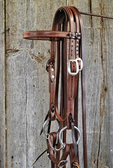 FR207 Bridle with Copper Twist Snaffle
