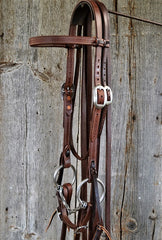 FR204 Bridle with Square Twist Snaffle