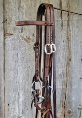 FR210 Bridle with Twisted Wire Snaffle