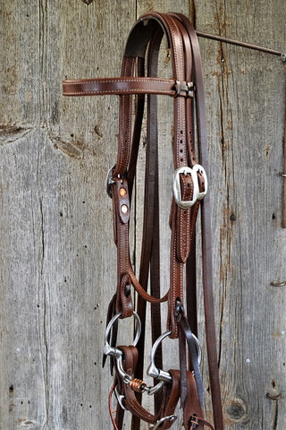FR209 Bridle with Dogbone Snaffle