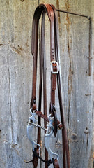 FR101 Bridle with Aluminum Snaffle