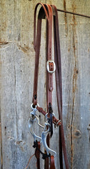 FR102 Bridle with Aluminum Curb Bit