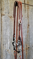 FR106 Bridle with Ported Chain Bit
