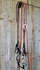 FR109 Bridle with Blued Chain Bit