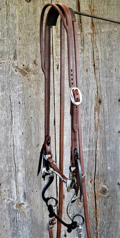 FR110 Bridle with Blued Ported Chain