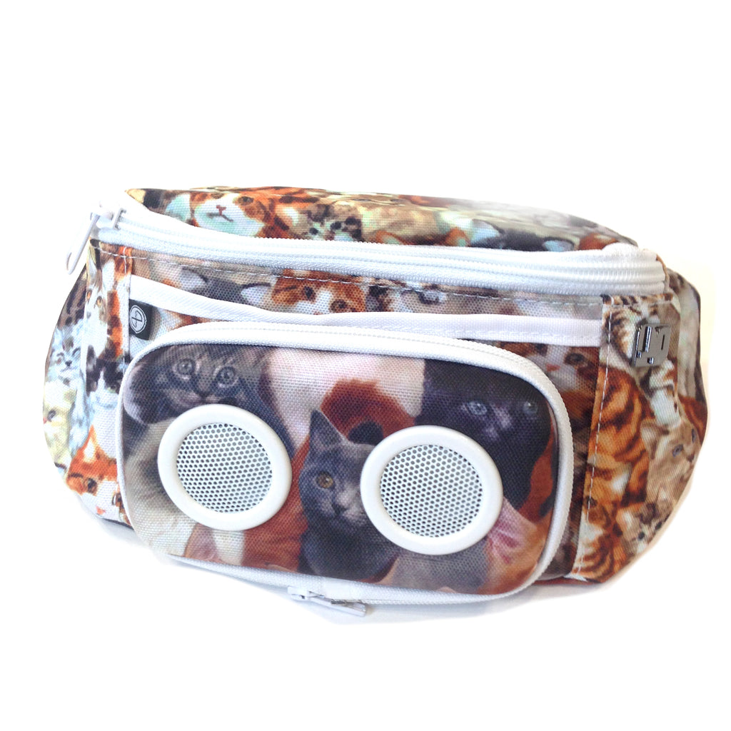 Cats Bluetooth Fanny Pack