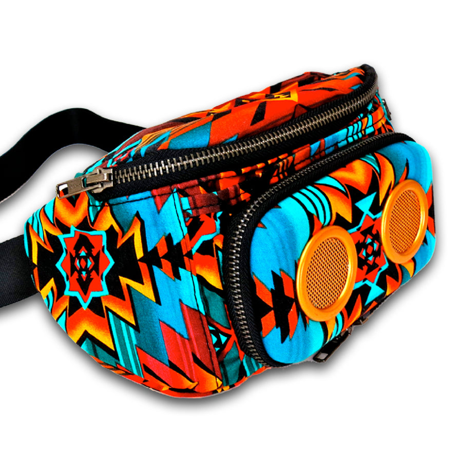 Earth Aztec Bluetooth Fanny Pack