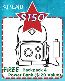 FREE 2.1 Stereo Backpack & Power Bank-JammyPack
