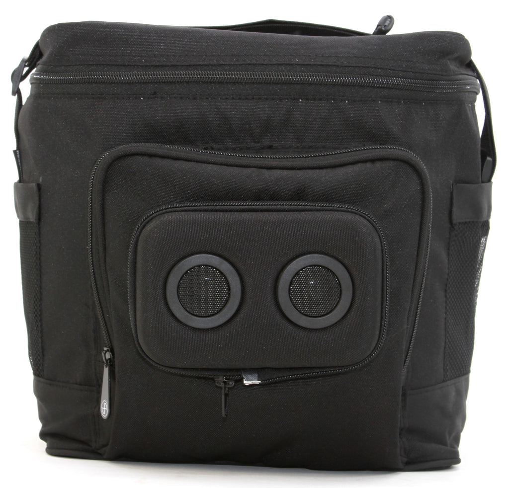 BlackedOut Cooler with Bluetooth Speakers-Cooler-JammyPack