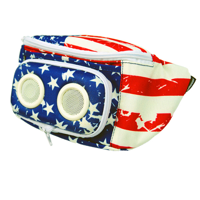 The Americana Bluetooth Fanny Pack-Fanny Pack-JammyPack