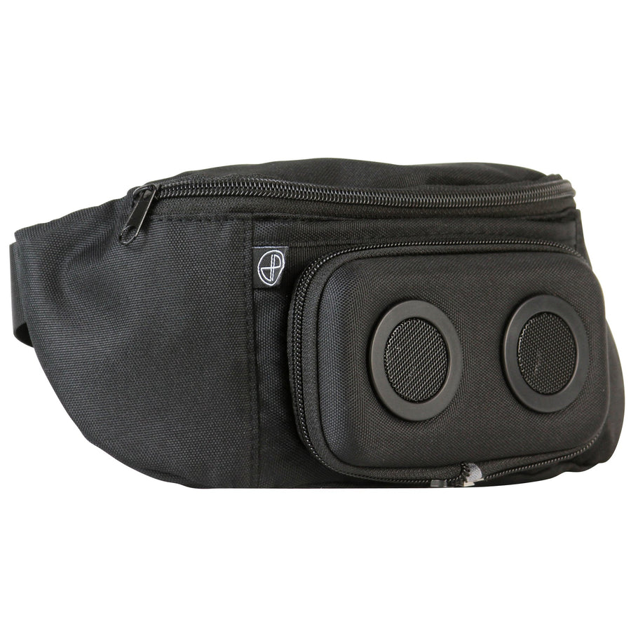 BlackedOut Bluetooth Fanny Pack-Fanny Pack-JammyPack
