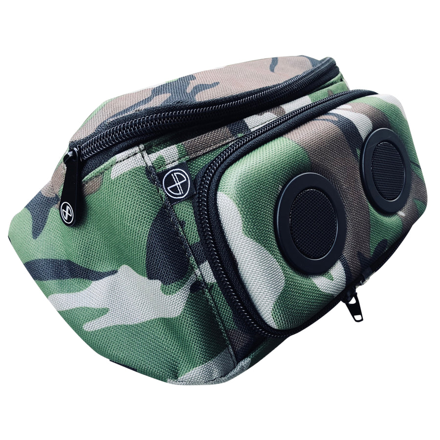 Classic Camo Bluetooth Fanny Pack