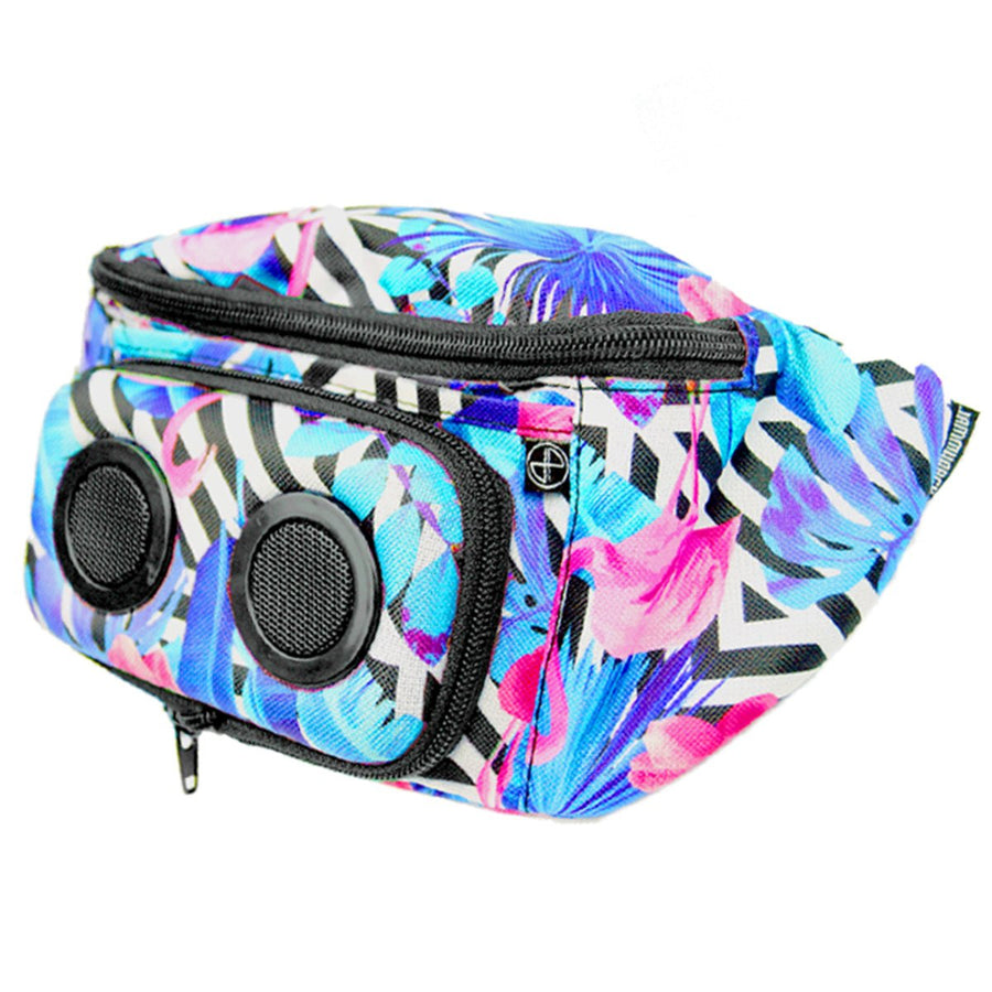 Flamingo Bluetooth Fanny Pack-Fanny Pack-JammyPack