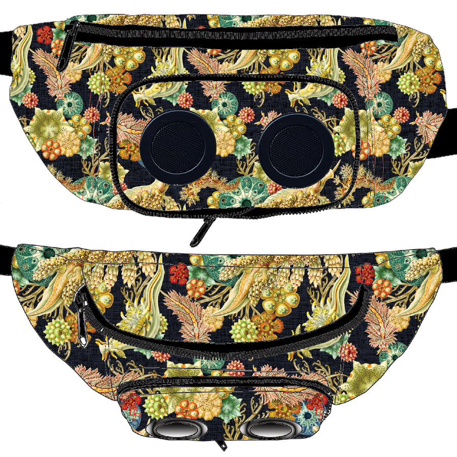 Micro Coral Bluetooth Fanny Pack