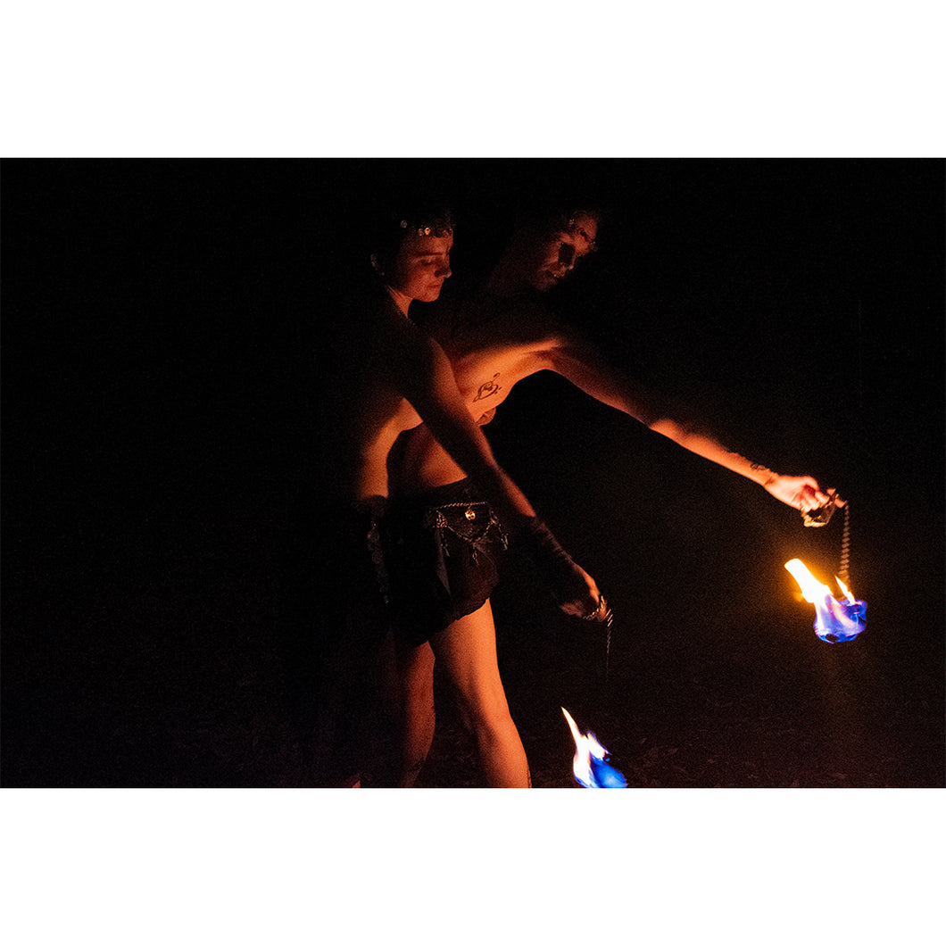 Fern & Kalie - Fire Dancers