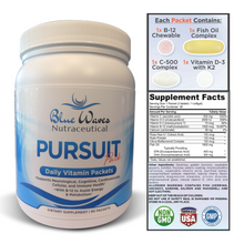 Load image into Gallery viewer, Pursuit Pack | 90 Daily Vitamin Packets